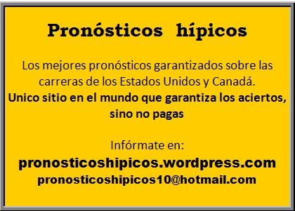 Pronosticos hipicos 10